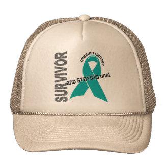 Superviviente del cáncer ovárico gorro