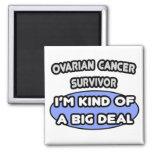 Superviviente del cáncer ovárico… soy un poco una  iman