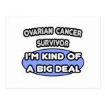 Superviviente del cáncer ovárico… soy un poco una  tarjeta postal