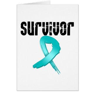 SUPERVIVIENTE del cáncer ovárico Tarjetón