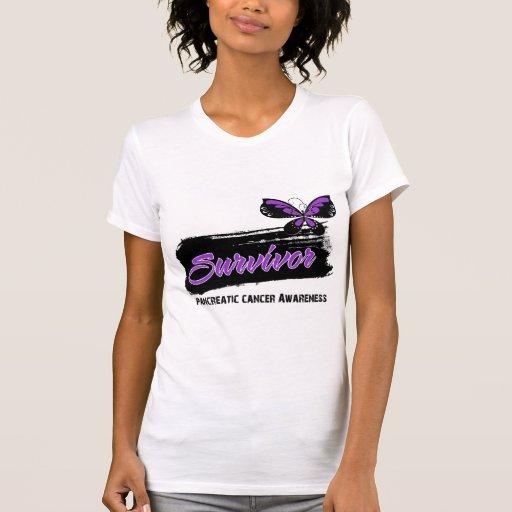Superviviente del cáncer pancreático de la camisetas