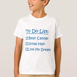 Superviviente del cáncer para hacer la lista playera