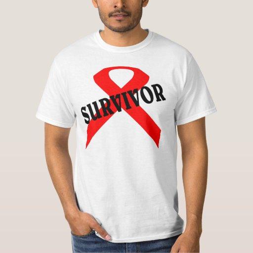 Superviviente del cáncer remeras