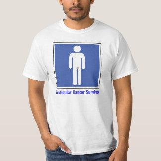 Superviviente del cáncer testicular polera