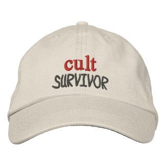 Superviviente del culto gorras bordadas