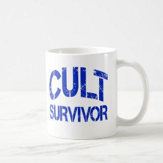 Superviviente del culto taza