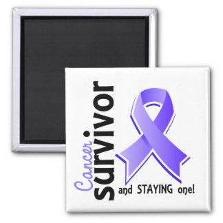 Superviviente del esófago 19 del cáncer imán de frigorifico