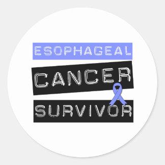 Superviviente del esófago del cáncer etiqueta