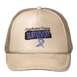 Superviviente del esófago fresco del cáncer gorros bordados
