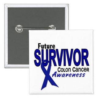 Superviviente del futuro del cáncer de colon pins