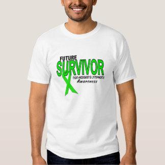 Superviviente del futuro del linfoma de remeras
