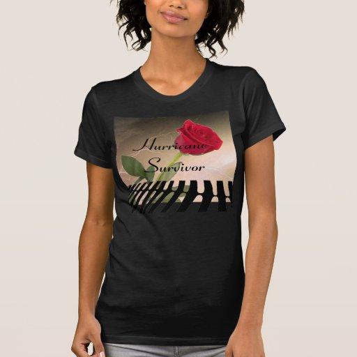 Superviviente del huracán camiseta