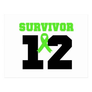 SUPERVIVIENTE del linfoma 12 años Postales
