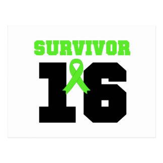 Superviviente del LINFOMA 16 AÑOS Postales