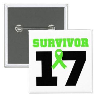 Superviviente del LINFOMA 17 años Pins