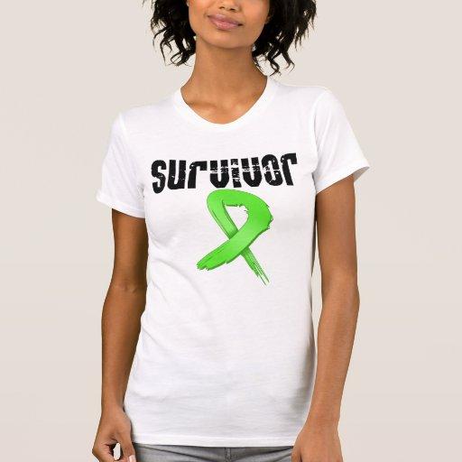 SUPERVIVIENTE del linfoma Camisetas