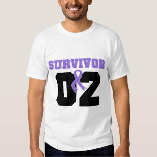 Superviviente del linfoma de Hodgkins 02 años Playera