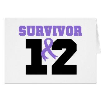 Superviviente del linfoma de Hodgkins 12 años Tarjeta