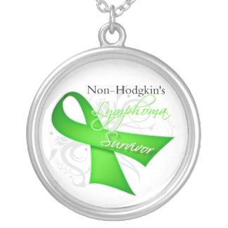 Superviviente del linfoma Non-Hodgkin Collar Plateado
