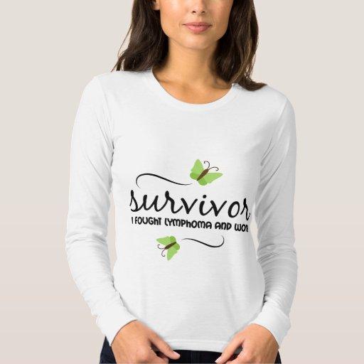 Superviviente del linfoma playera