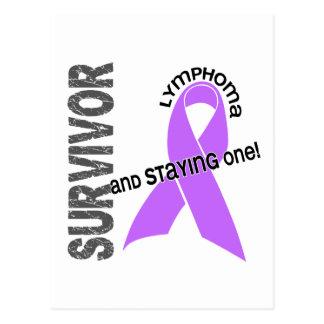 Superviviente del linfoma tarjetas postales
