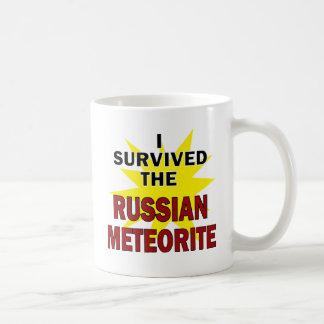 Superviviente del meteorito taza clásica