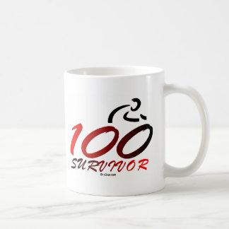 Superviviente del siglo taza de café