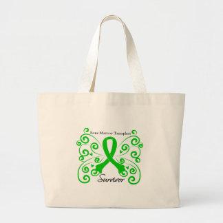 Superviviente del trasplante de la médula de la ma bolsas