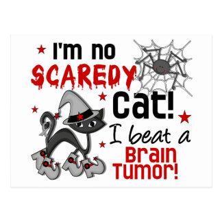 Superviviente del tumor cerebral de Halloween 2 Postales