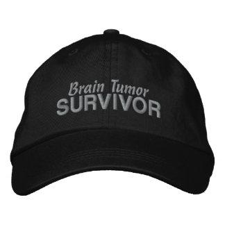 Superviviente del tumor cerebral gorra de beisbol