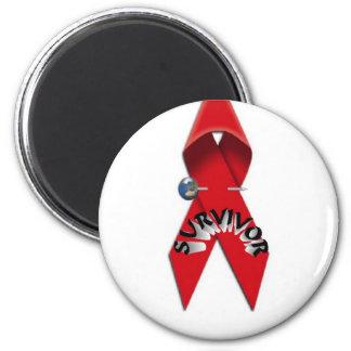 Superviviente del VIH y del SIDA Imán De Frigorifico