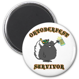 Superviviente divertido de Oktoberfest Iman Para Frigorífico