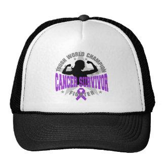 Superviviente duro del cáncer de Leiomyosarcoma Gorra