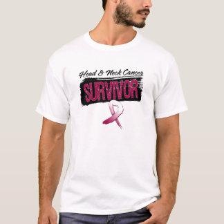 Superviviente fresco del cáncer de cabeza y cuello playera