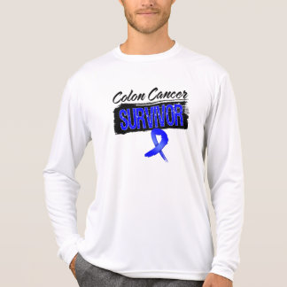 Superviviente fresco del cáncer de colon camisetas