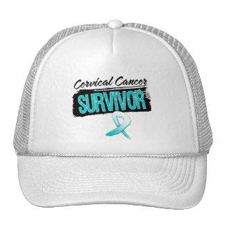 Superviviente fresco del cáncer de cuello del úter gorro