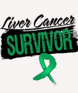 Superviviente fresco del cáncer de hígado playera
