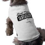 Superviviente fresco del cáncer de hueso camiseta de mascota