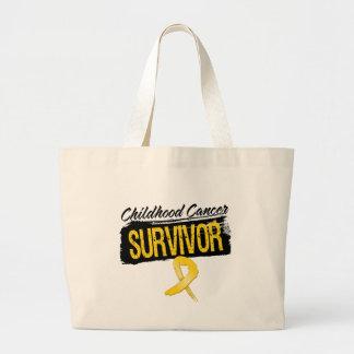 Superviviente fresco del cáncer de la niñez bolsas de mano