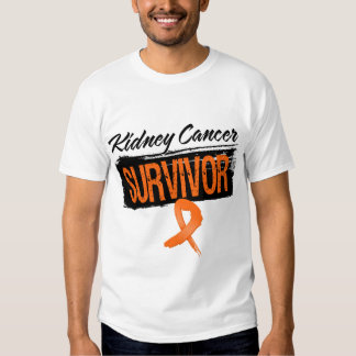 Superviviente fresco del cáncer del riñón remera