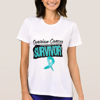 Superviviente fresco del cáncer ovárico camiseta