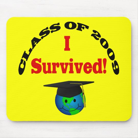 ¡Superviviente graduado 2009! Mousepad