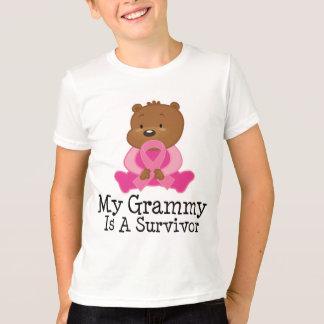 Superviviente Grammy del cáncer de pecho Playera
