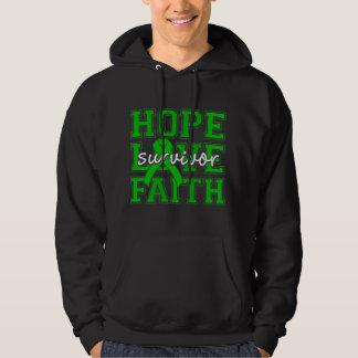 Superviviente mitocondrial de la fe del amor de la jersey con capucha