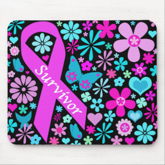 Superviviente Mousepad del cáncer de pecho