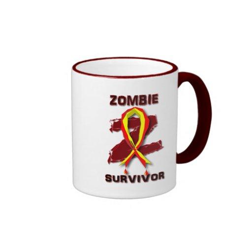 Superviviente Mousepads del zombi y tazas
