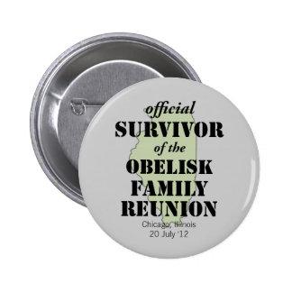 Superviviente oficial de la reunión de familia - v pin