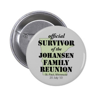 Superviviente oficial (verde) pin