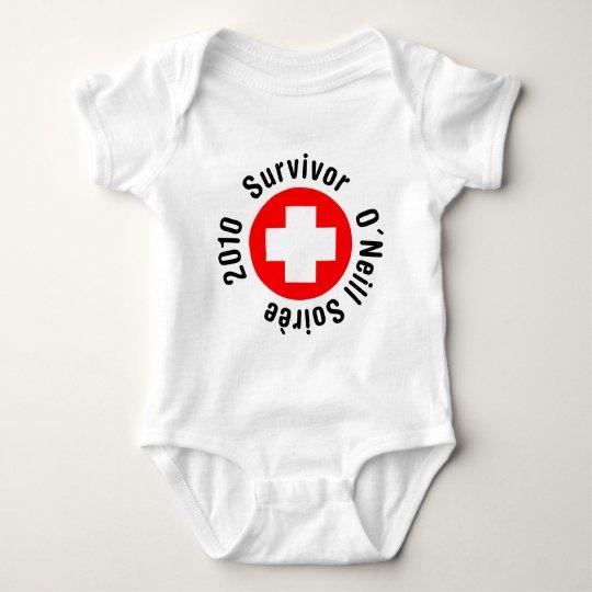 Superviviente O'Neil Soirée 2010 Body Para Bebé