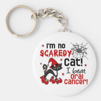 Superviviente oral del cáncer de Halloween 2 Llaveros Personalizados